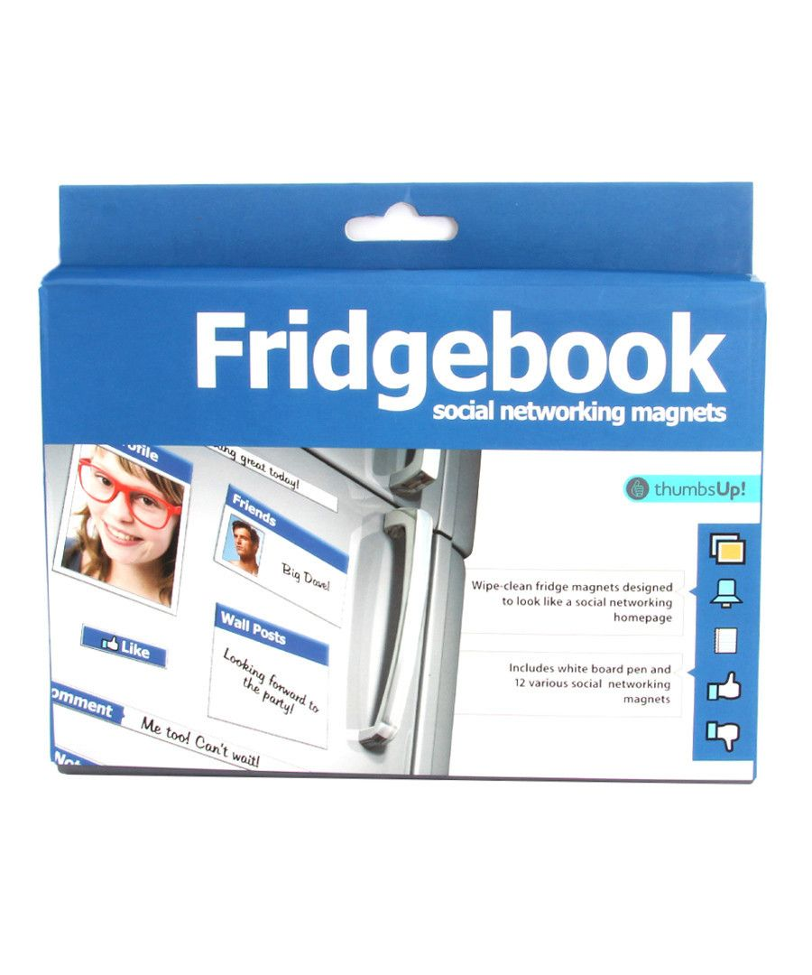 Fridgebook by Thumbs Up! - Australian Gifts Online - 2
