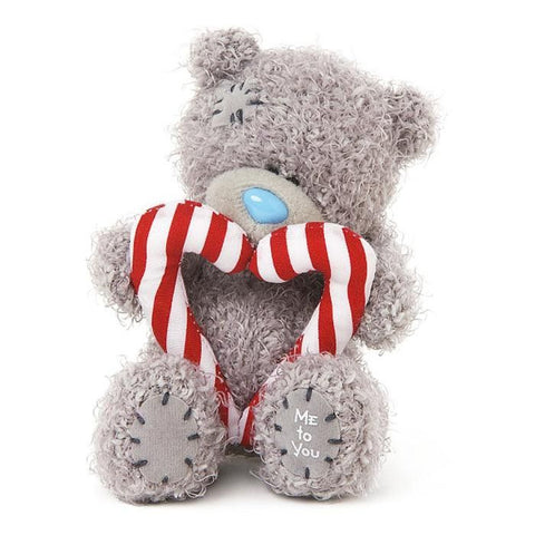 Carte Blanche Me to You Tiny Tatty Teddy 10cm Candy Cane Bear - Australian Gifts Online