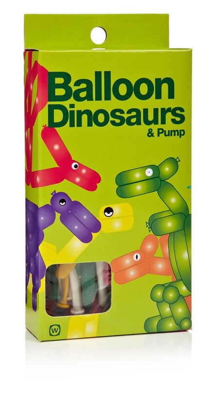 Balloon Dinosaurs by NPW - Australian Gifts Online - 2