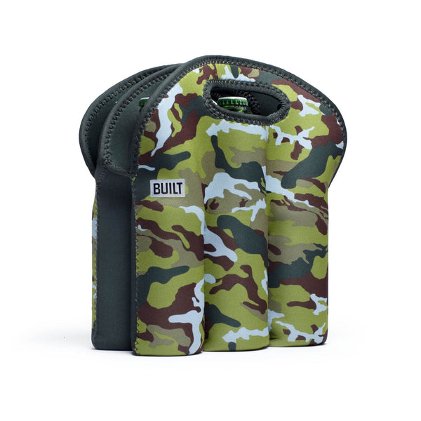 Built NY Six Pack Tote - Urban Camo Green - Australian Gifts Online