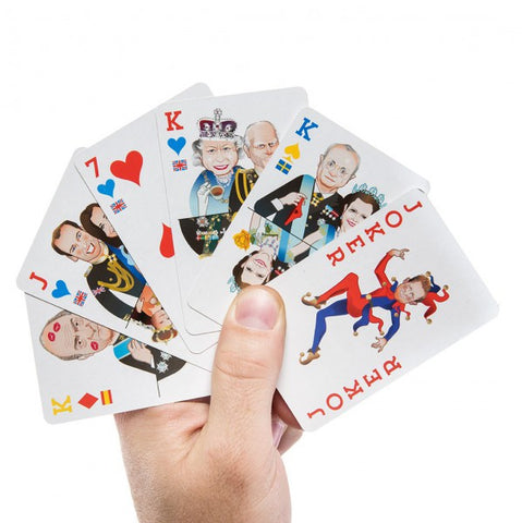 Royal Flush Regal Playing Cards by Donkey Products - Australian Gifts Online - 1