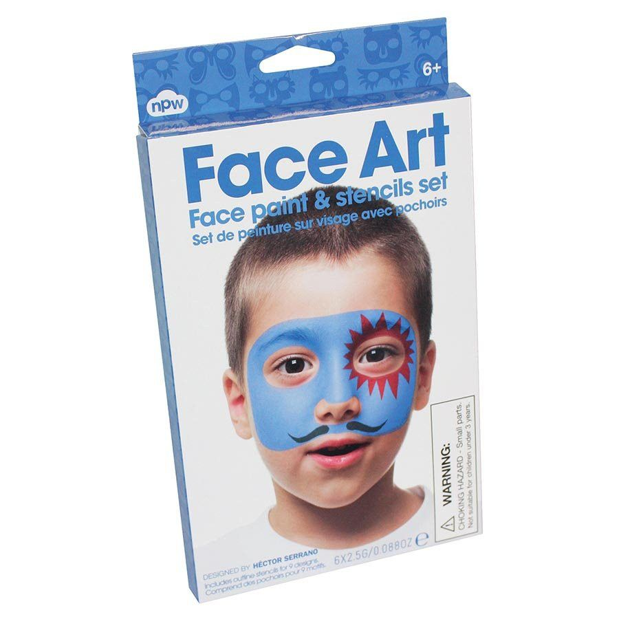 Face Art Set for Boys - Australian Gifts Online - 1