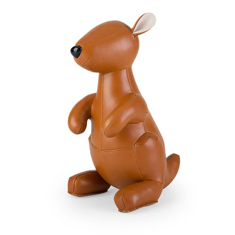 Zuny Bookend Kangaroo Tan