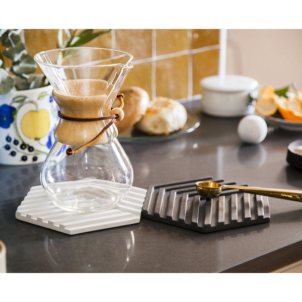 Areaware Table Tiles Concrete Trivet