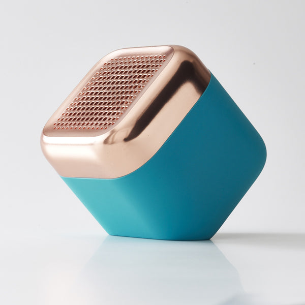 Kakkoii Qbl Chrome Waterproof Wireless Speaker