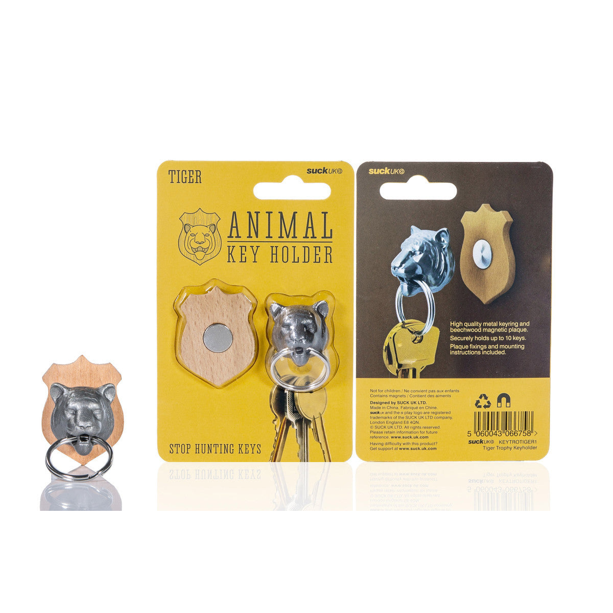 Suck UK Animal Key Holder