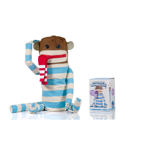 Suck UK Sock Monkey Laundry Bag