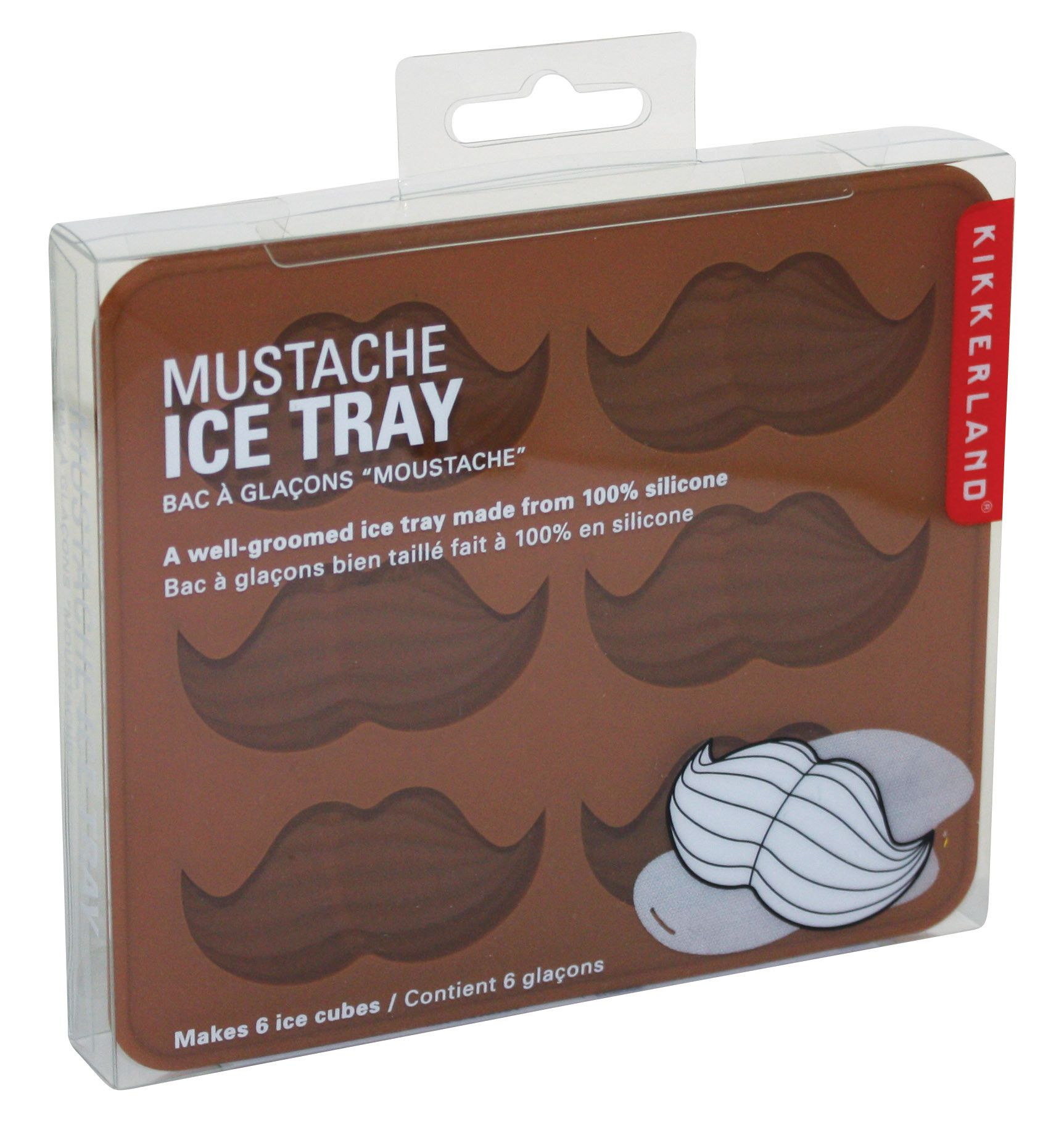 Moustache Ice Tray - Australian Gifts Online - 2