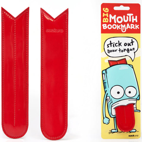 Suck UK Bookmark Big Mouth