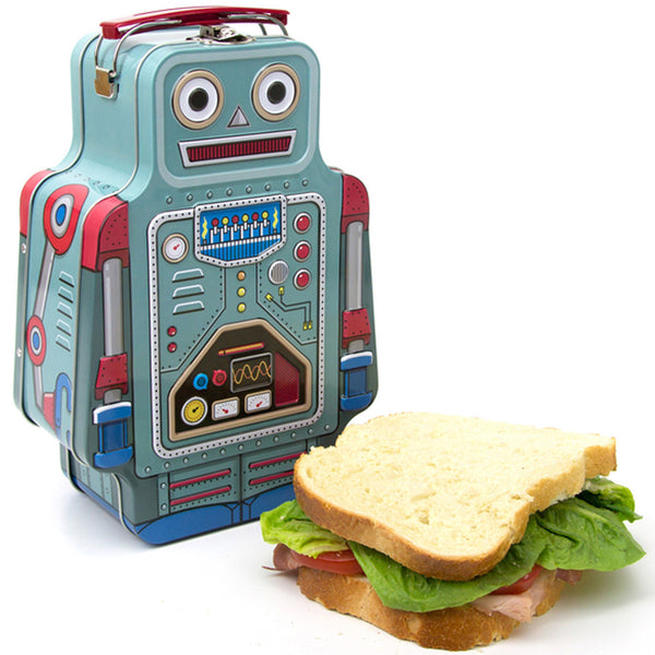 Suck UK Lunch Bot Lunch Tin