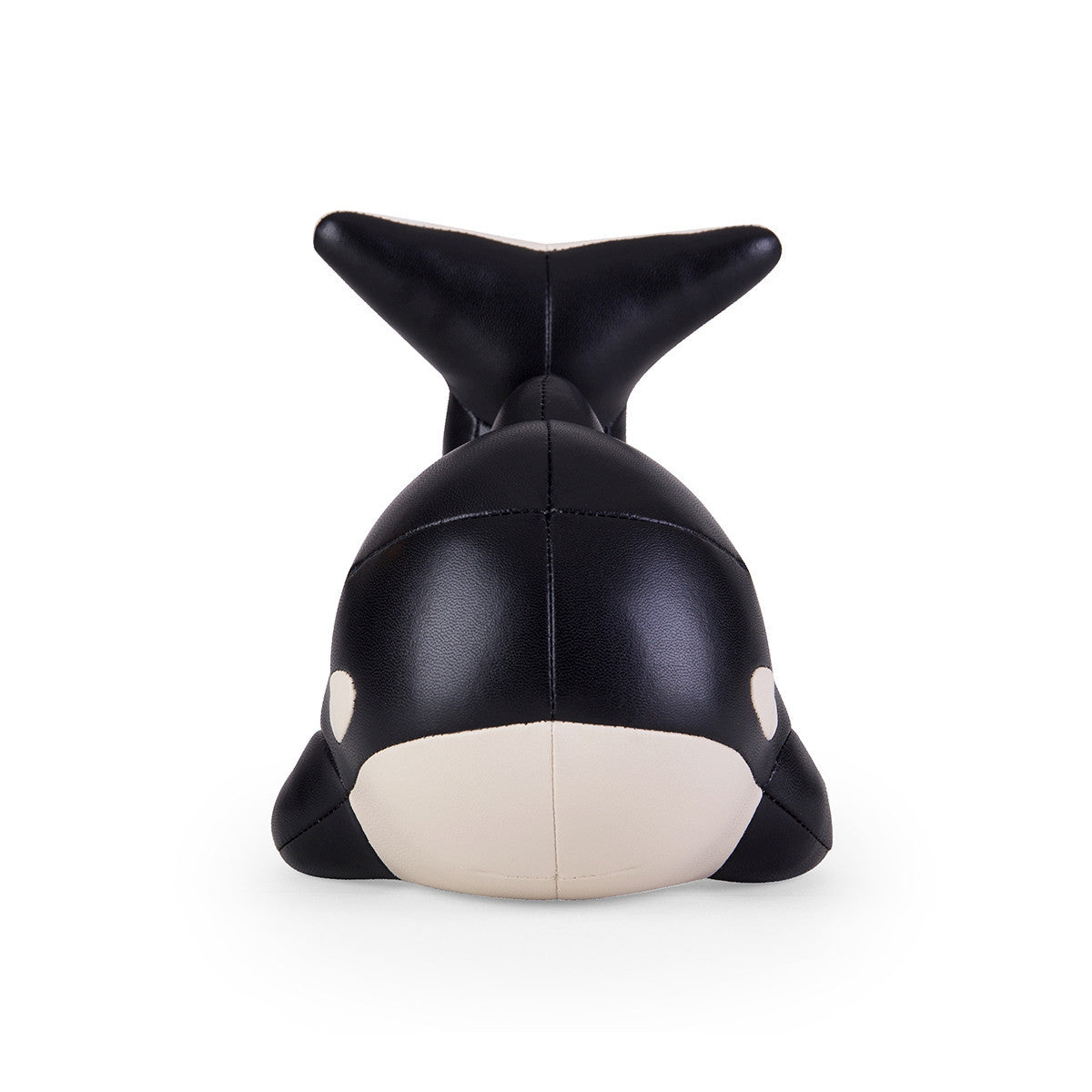 Zuny Bookend Whale Black
