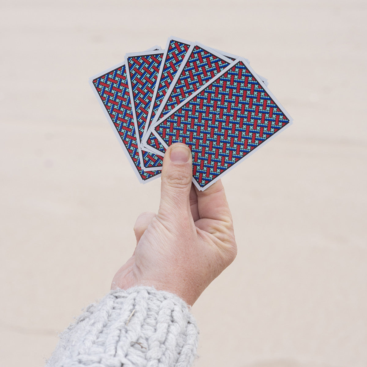 Areaware Solitaire Cards Playing Cards