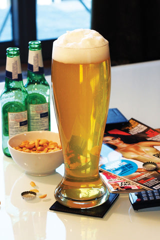 Giant Beer Glass by the Gentlemen's Club 2.5 pint Glass - Australian Gifts Online - 1