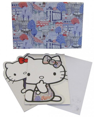 Hello Kitty 'Liberty' Notelets - Australian Gifts Online - 1