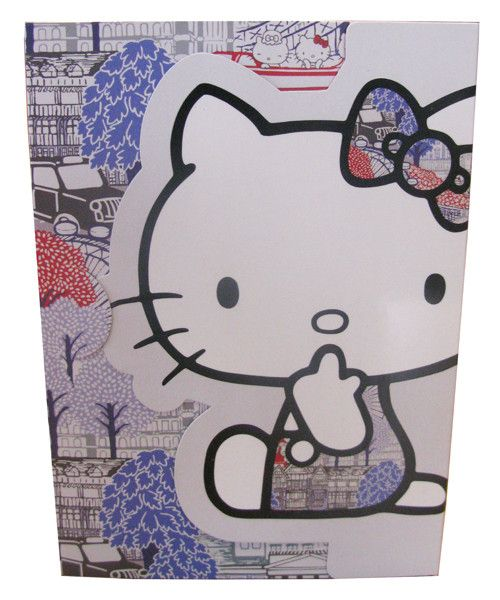 Hello Kitty 'Liberty' Notepad - Australian Gifts Online