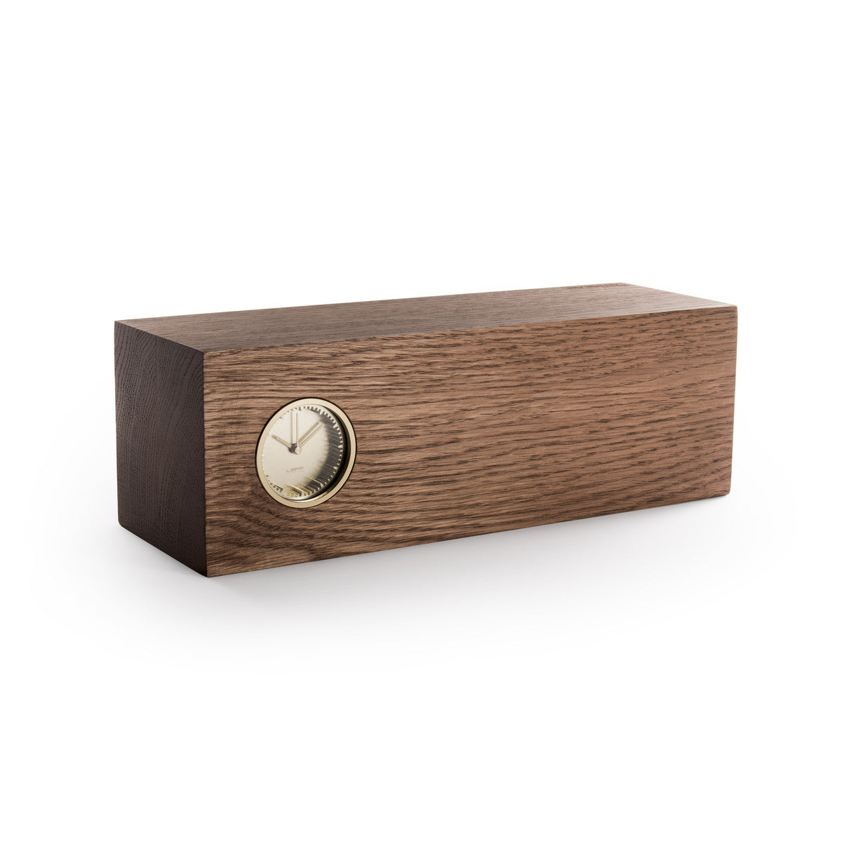 LEFF Amsterdam Tube Wood Clock