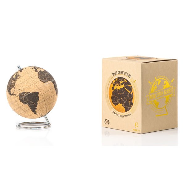Suck UK Cork Globe Mini