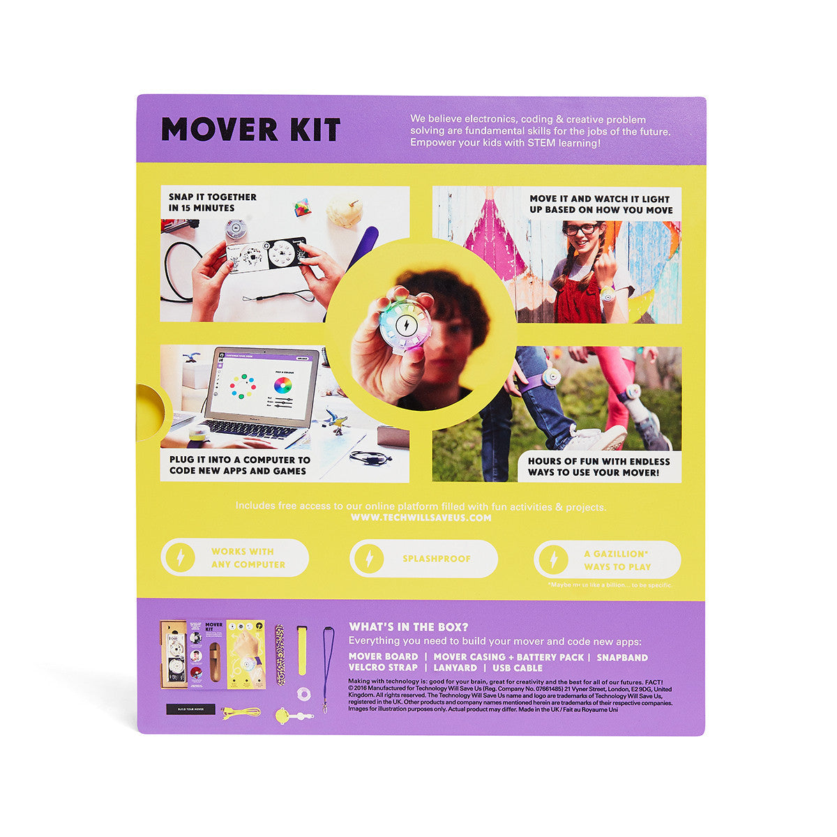 Tech Will Save Us Mover Kit Stem Toy