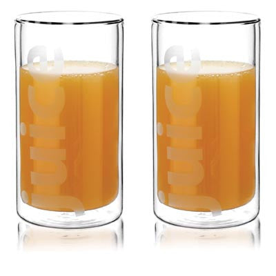 Viva Double Wall Juice Glasses - (Set of 2) - Australian Gifts Online - 3