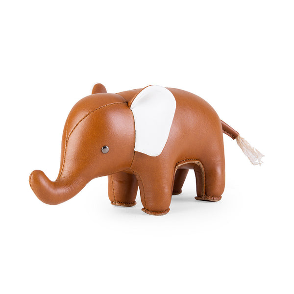 Zuny Paperweight Classic Elephant Tan