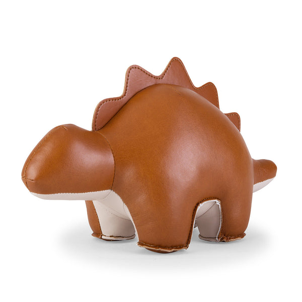 Zuny Bookend Stegosaurus Tan