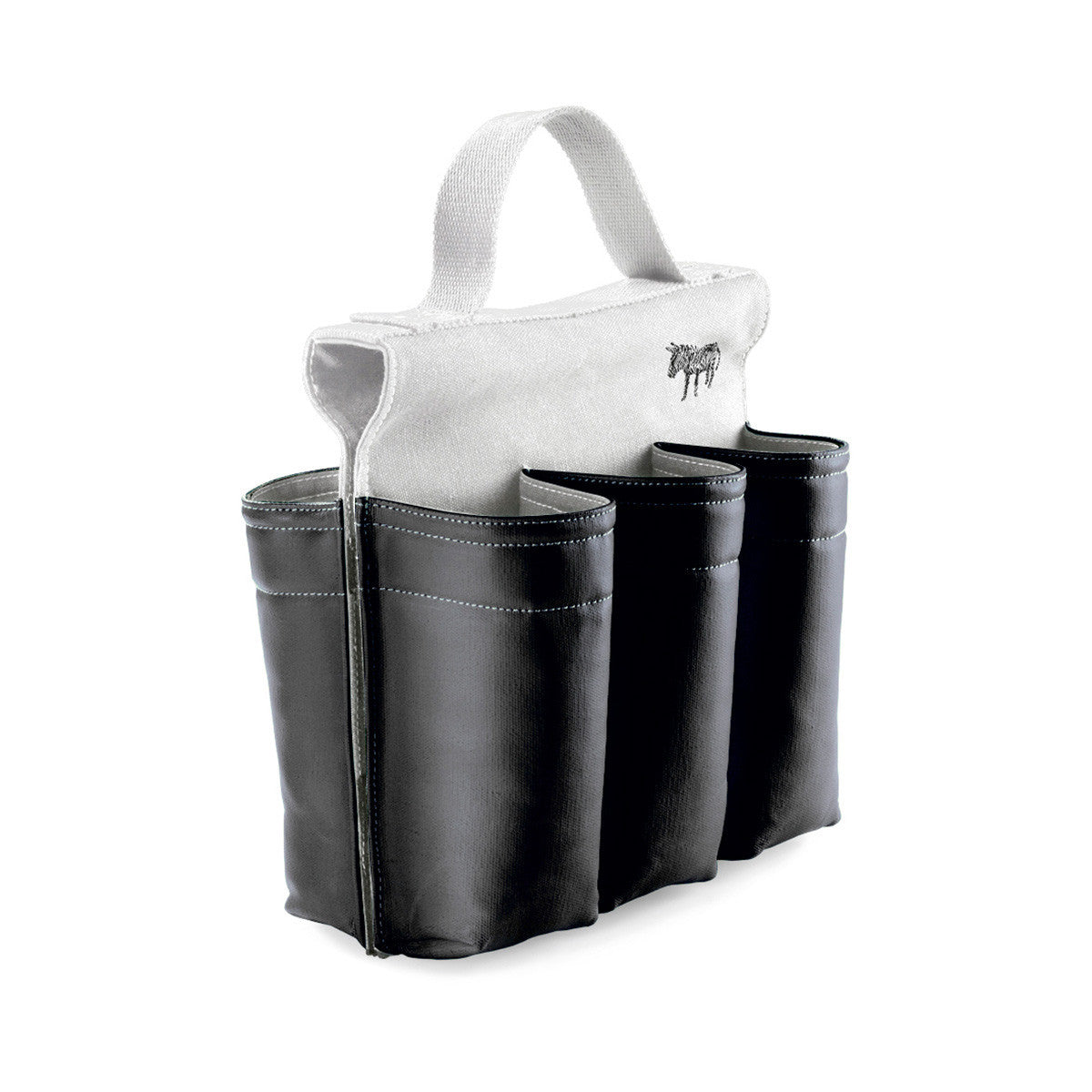 Donkey Products Bike Bag Six Pack B&W