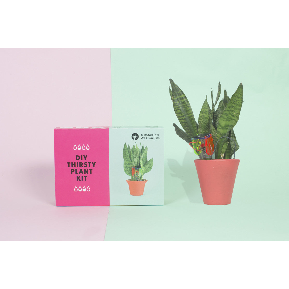 Tech Will Save Us D.I.Y. Thirsty Plant Kit