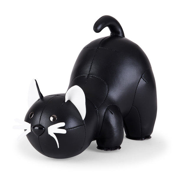 Zuny Bookend Classic Cat Black