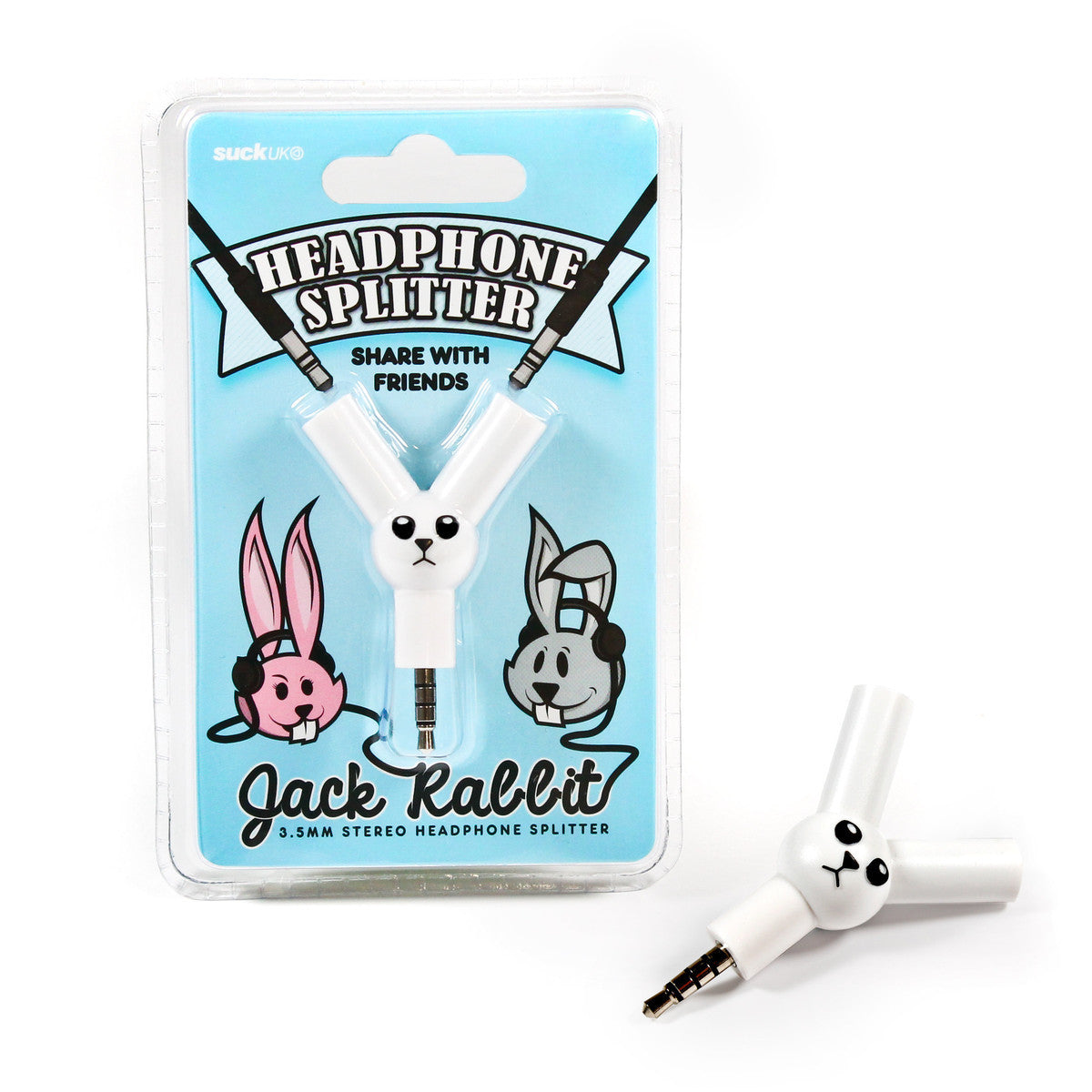 Suck UK Jack Rabbit Headphone Splitter