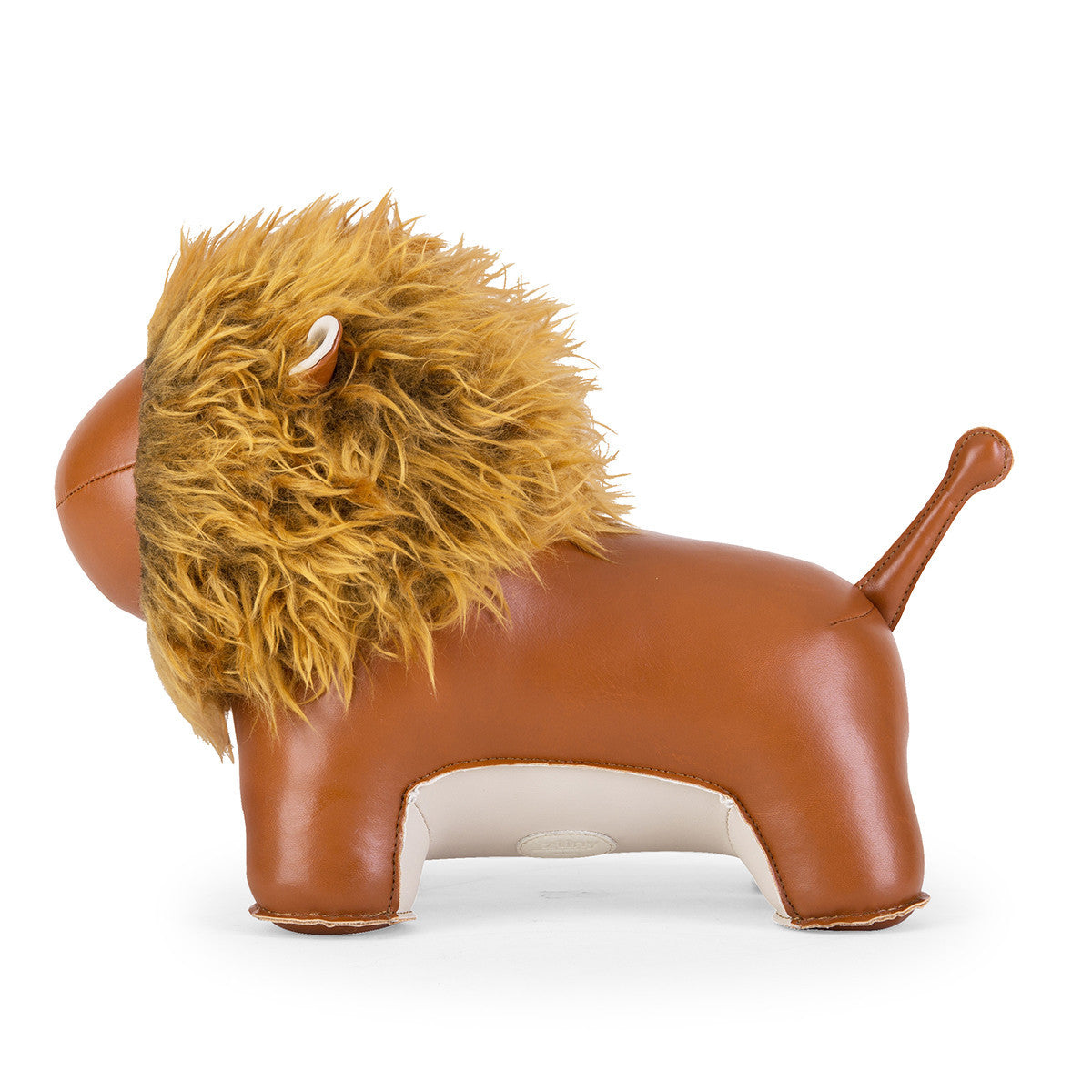 Zuny Doorstop Lion Tan