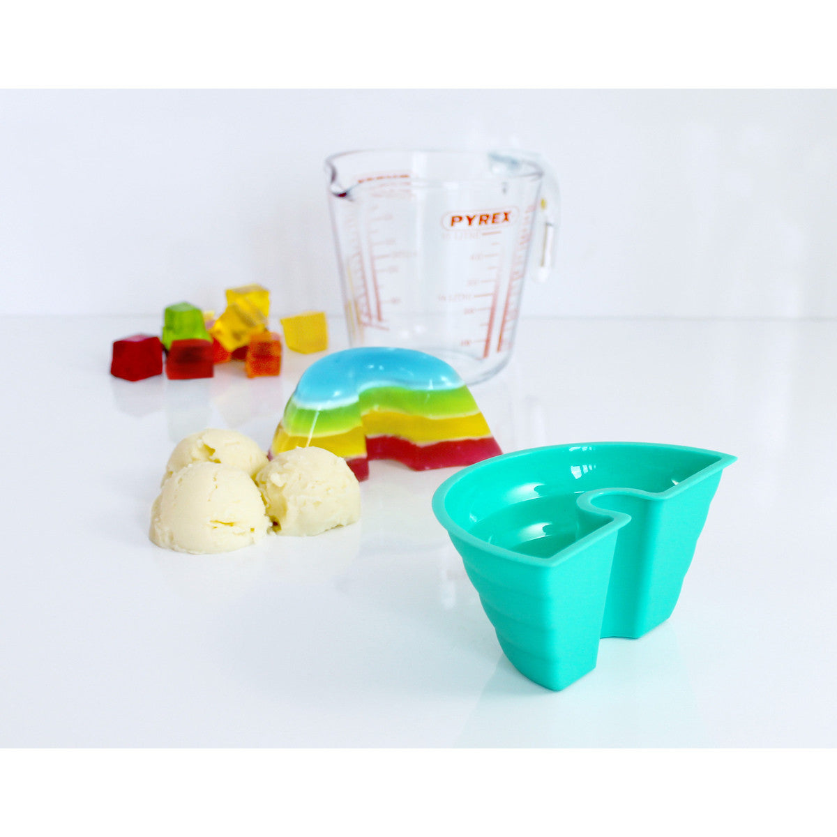 Suck UK Rainbow Jelly Mould