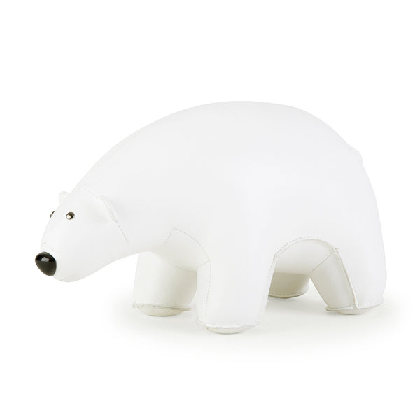 Zuny Bookend Classic Polar Bear White