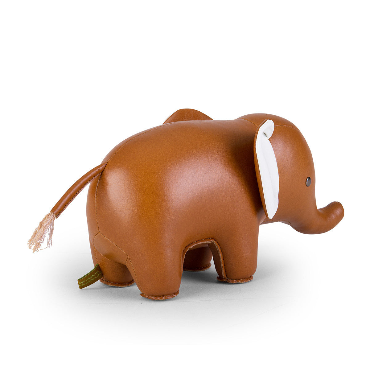 Zuny Bookend Classic Elephant Tan