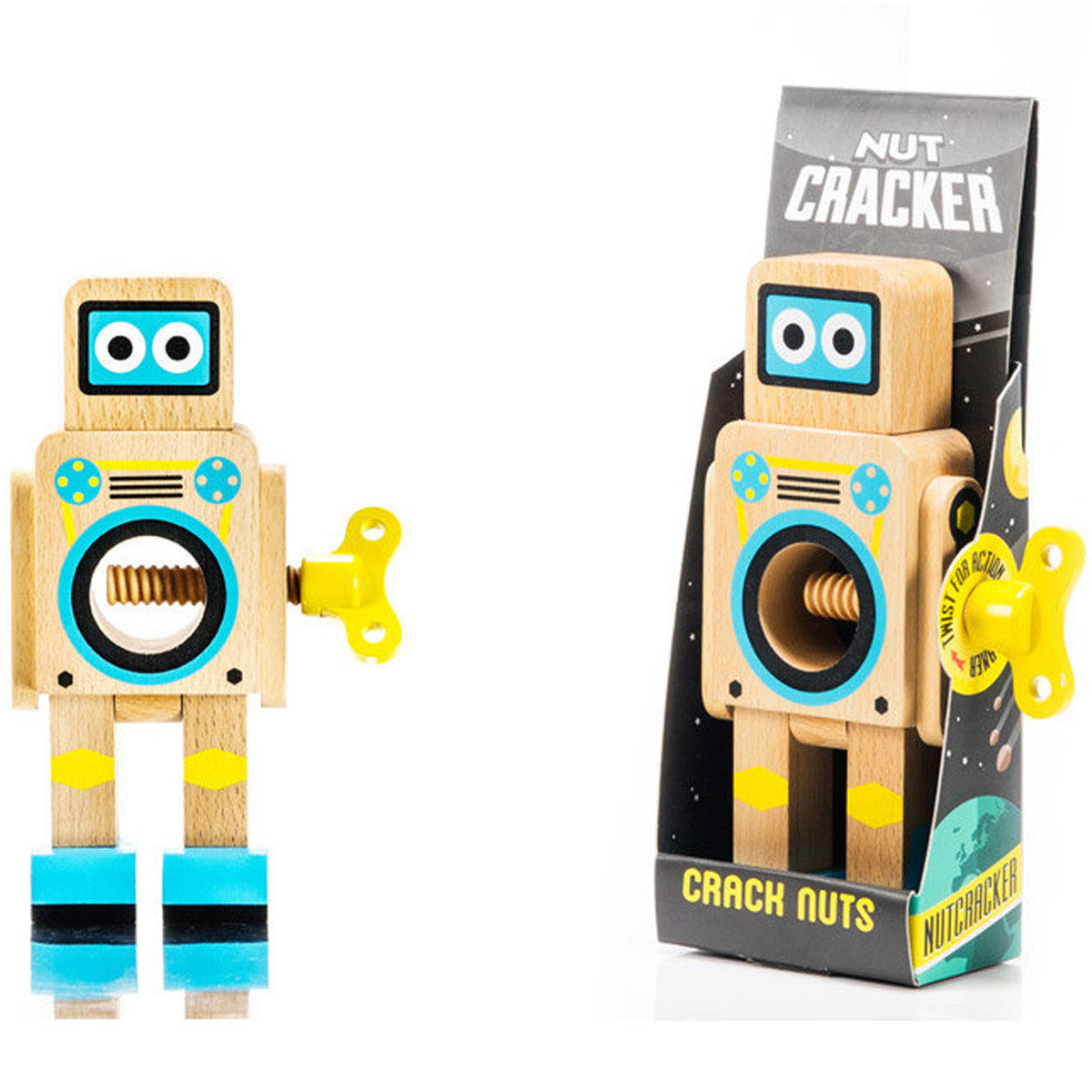 Suck UK Robot Nutcracker