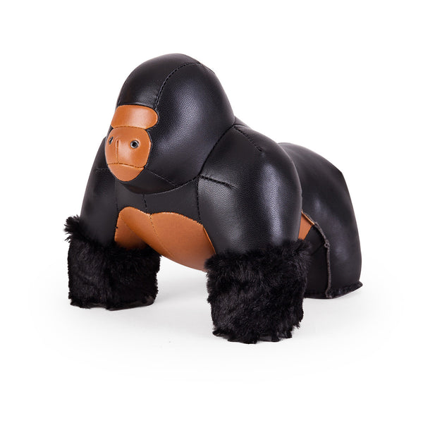 Zuny Bookend Gorilla Black