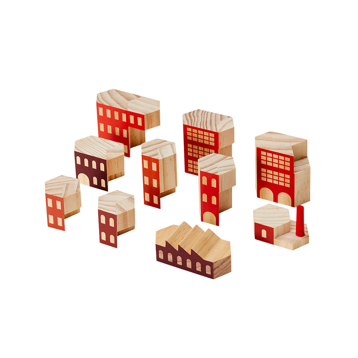 Areaware Blockitecture Factory Building Blocks