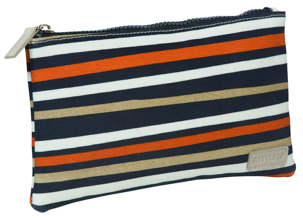 SunnylifeToiletry Bag Small - Caramel Stripe - Australian Gifts Online