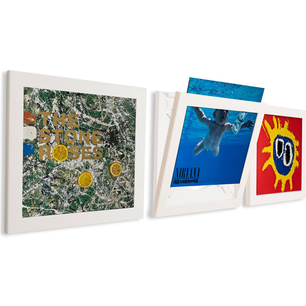 Art Vinyl Flip Frame Triple Pack Record Frame