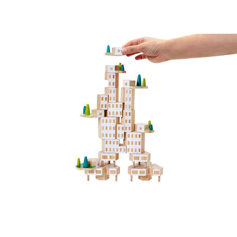 Areaware Blockitecture Garden City Mega Set Building Blocks