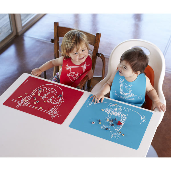 Modern Twist Meal Mat Silicone Placemat