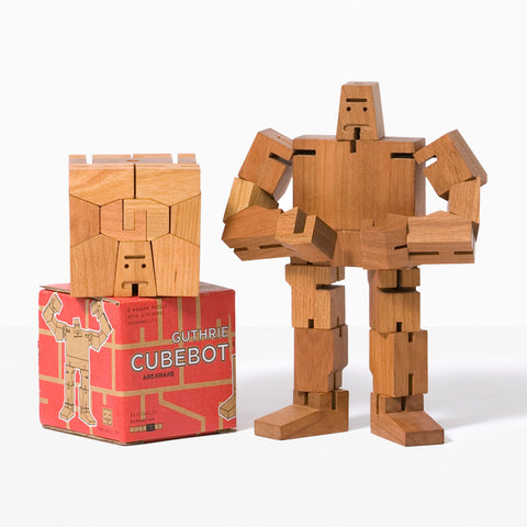Areaware Guthrie Cubebot Robot Toy