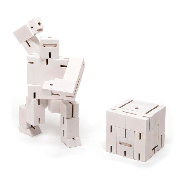Areaware Cubebot Small Ninja Robot Toy