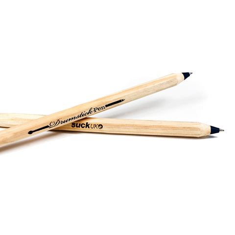Suck UK Drumstick Pen Black