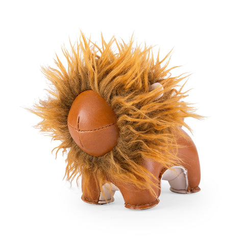 Zuny Paperweight Lion Tan
