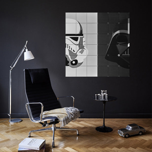 IXXI Star Wars Stormtrooper / Darth Vader Wall Art