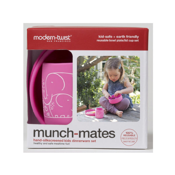 Modern Twist Munch Mates Silicone Meal Set