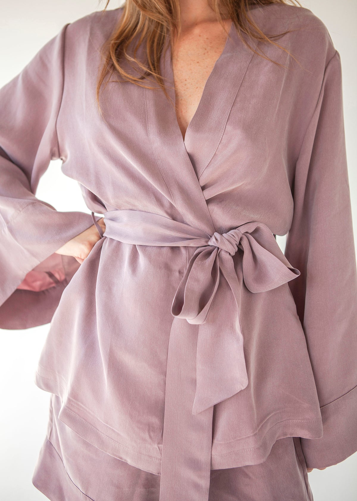 Blush Alyx Wrap Top