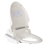 Electric Toilet Bidet - White