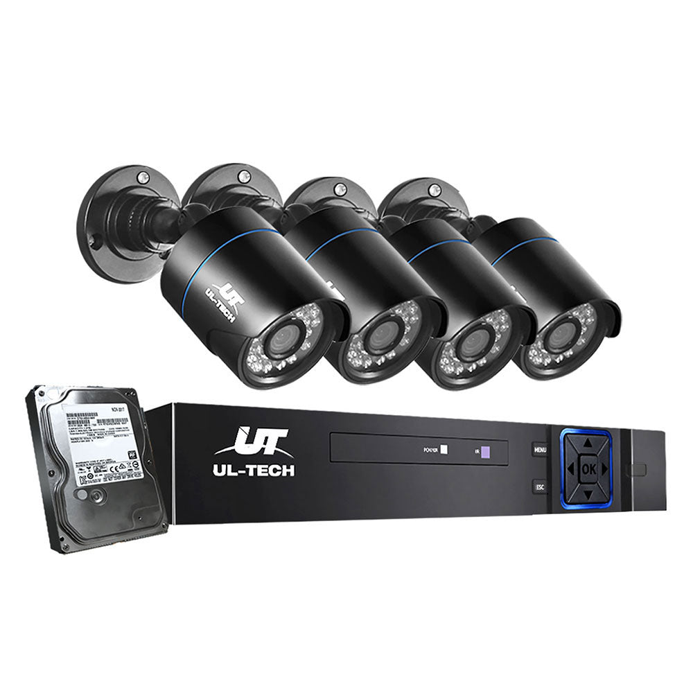 UL Tech 1080P 8 Channel HDMI CCTV Security Camera with 1TB Hard Drive