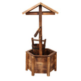 Gardeon Wooden Wishing Well
